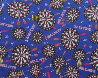 "Bullseye Target Fabric - C S Shamash & Sons 1123 -  28"" x 44"""