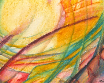 Sun Watercolors