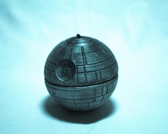 Hand Painted Death Star Ornament