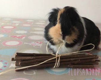 Willow Sticks for Rabbits, Guinea pigs, Hamsters, Chinchillas and Gerbils