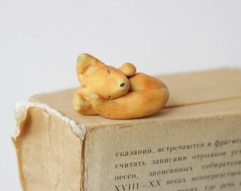 Forest Animal Fox Bookmark planner accessories animal charm  miniature children's for book birthday gift ideas for kids school supplies