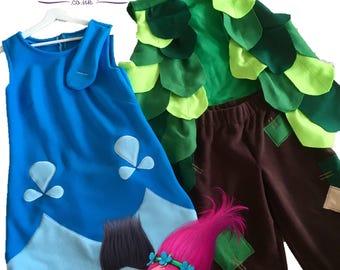 Princess Poppy Troll Costumes for kids