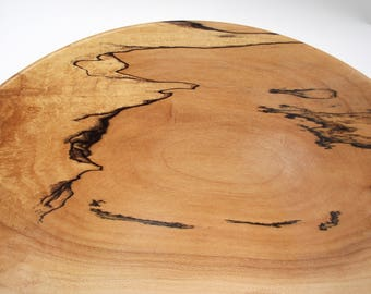 Spalted Hard Maple Bowl  # 118