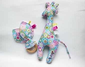 Personalized baby girl gift giraffe baby toy new baby girl personalized baby girl gift giraffe toy baby plushie stuffed animal toy new negle Choice Image