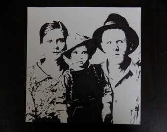 My Sharpie Art Drawing of The Presley Family!