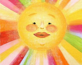 "Mister Sunshine- PRINT 11x14"""