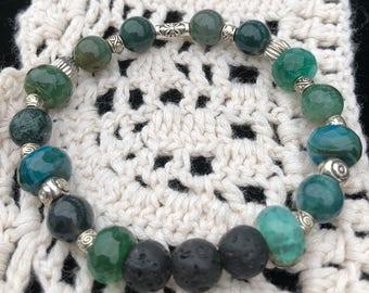 Lava Bead Essential Oil Bracelet