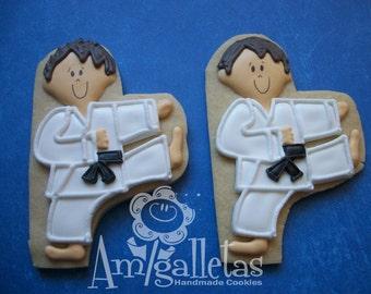 Karate Cookies - 1 dozen