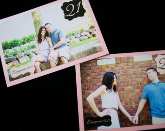 Photo Wedding Table Numbers