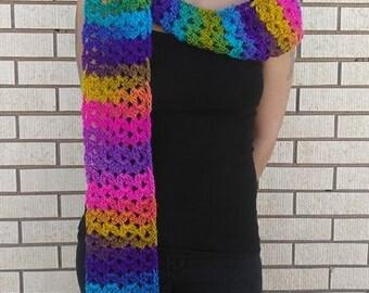 Auroras Crochet Scarf