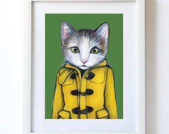 Penelope - Matte Print - From Painting by Heather Mattoon