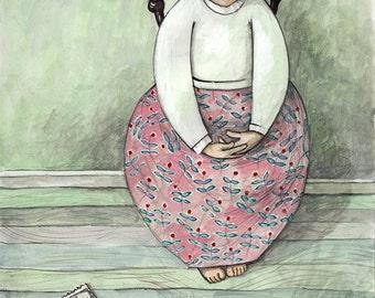 Separated. Original Fine Art Illustration