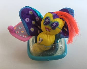1980s Fisher Price SMOOSHEES Smugglers FLUTTER BUTTERFLY