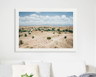 """Desert Photography // New Mexico Photography Landscape Photography // New Mexico Desert Summer // Large Living Room Art Modern """"New Mexico"""""""