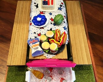 Picnic Table for the 4th of July