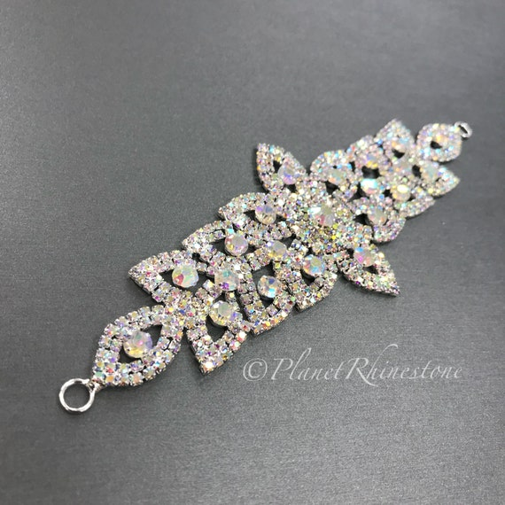 AB Rhinestone Applique #A-6
