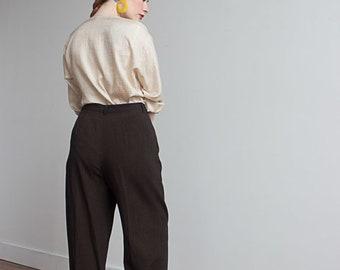 1990s DKNY High Waist Trousers