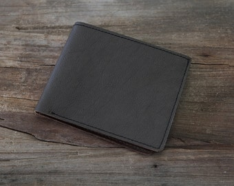 CLEARANCE! Cow Leather Personalized Vintage - Leather Wallet Mens Wallet,Birthday Gift ,Gifts for Men