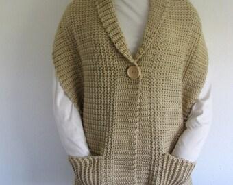 PDF Crochet Pattern- Sedona  Wrap (Shawl)