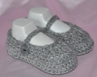 Mary Jane Booties for Baby in size New Born,  0 to 6 months and 6 to 12 months