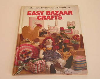 Easy Bazaar Crafts Better Homes And Gardens Vintage Book