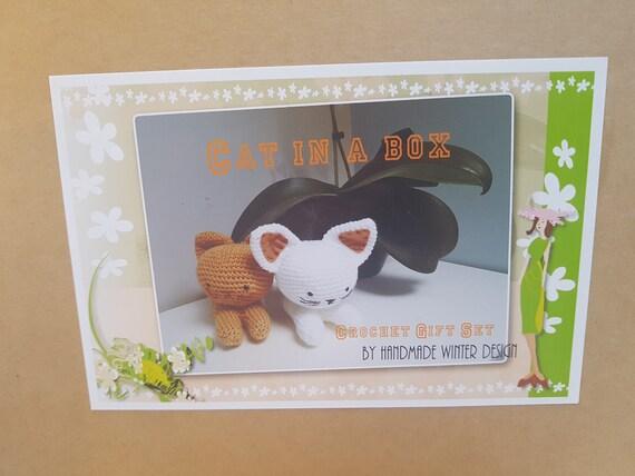 Häkeln Sie Kitty Katze Kit Crochet Amigurumi Komplettset