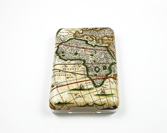 Old Map iPod Classic Hard Cover Shell Case 80/120/160 GB 6th 7th generation/iPod touch 5