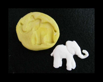 elephant Silicone mold,elephant push mold,elephant mold, food mold. craft mold, soap mold,clay mold,mould  , # 12 S