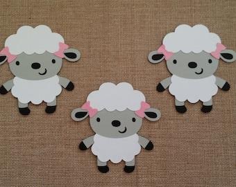 Lamb Die Cut set of 3