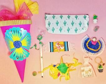 Kaktus - Kaktus-Geschenk-Set - Weihnachten Geschenke set - Überraschung Kugel - Weihnachts-Geschenk für Teenager - saftig Geschenke - Schultute - Geschenk-sets