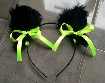 Cat Ears (Yellow & Black)