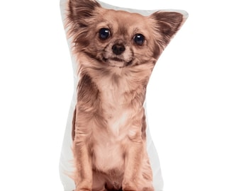 Chihuahua, Chihuahua Pillow, Cushion, Chihuahua Gift, Girls Birthday, I Love Dogs, Chihuahua Dog, Dog Loss Gifts, Dog Lovers Gift Idea, Dogs