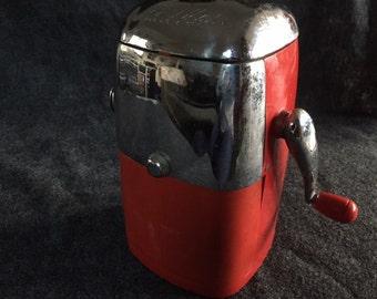 Vintage Ice-O-Matic mid-century ice crusher