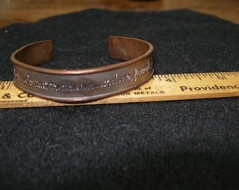 ARTISAN Copper Bracelet