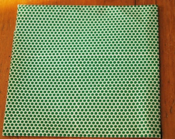 Retro 1960s Wrapping Paper MOD Vintage Gift Wrap Sheet Polka Dots