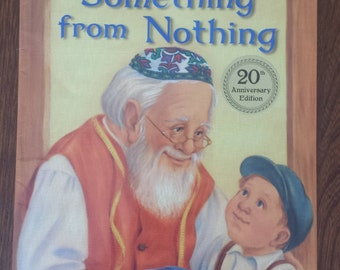 Something From Nothing - Phoebe Gilman - Vintage Classic Children's Books - Jewish Folktale - Gift For Kids - Story Books