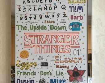 STRANGER THINGS POSTER // eggo eleven