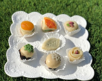 Marzipan candies
