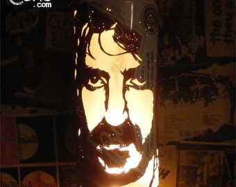 Frank Zappa Beer Can Lantern! Mothers Of Invention Pop Art Candle Lamp - Unique Gift!