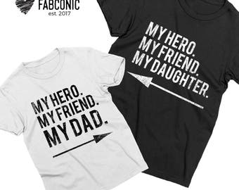 Father daughter shirts, Matching father daughter shirts, My dad My daughter shirts, Father and daughter shirts, Dad daughter shirts
