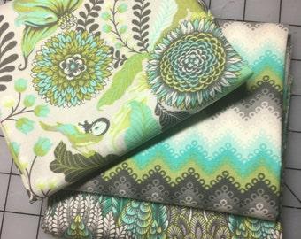 Tula Pink Foxfield Foxtrot Botanica Pointed Lace FQ Bundle