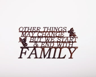 Family-Other Things May Change