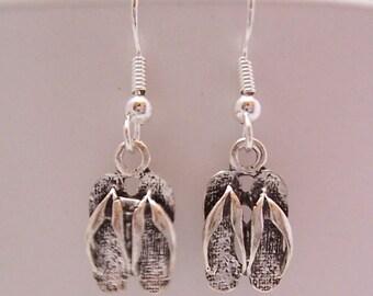Flip Flop Dangle Earrings