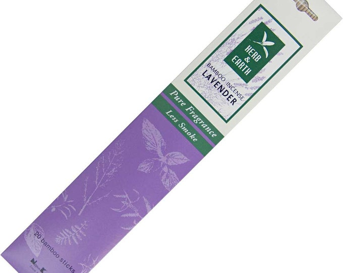 Herb & Earth Lavender Incense