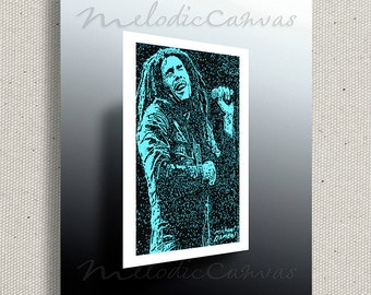 Bob Marley (PRINT) color option available