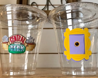 Friends, Central Perk 12 oz Party Cups and Lids
