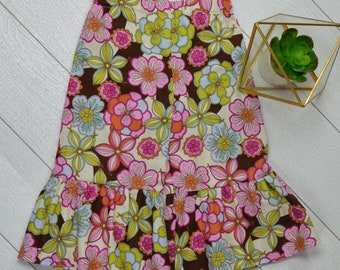 Ruffle Pants Size 7 - Floral