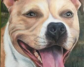 """16""""x""""20 Customized Pet Portrait"""