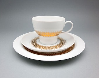 Vintage Breakfast Trio (Teacup, Saucer & Plate) by Thomas, Rosenthal Group