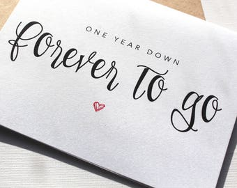 One year anniversary for girlfriend etsy
